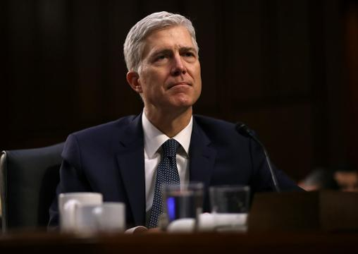Supreme Court nominee Neil Gorsuch says his philosophy of originalism means equal protection for all. He says the 14th amendment is 'maybe the most radical guarantee in all of the Constitution,' calling it 'a fantastic thing.' (March 22)