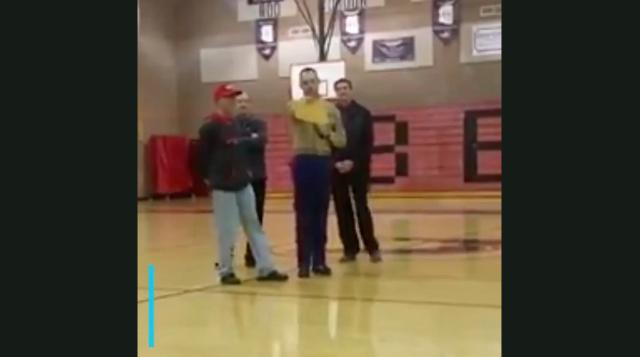 Teacher surprised with gift of a lifetime