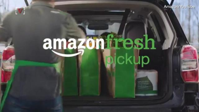Amazon now delivers groceries straight to your trunk