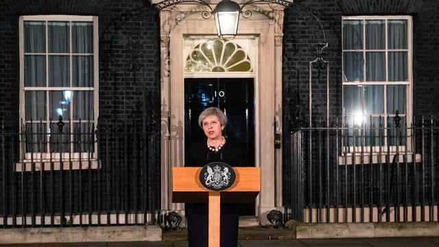 Theresa May calls London attack 'sick and depraved'