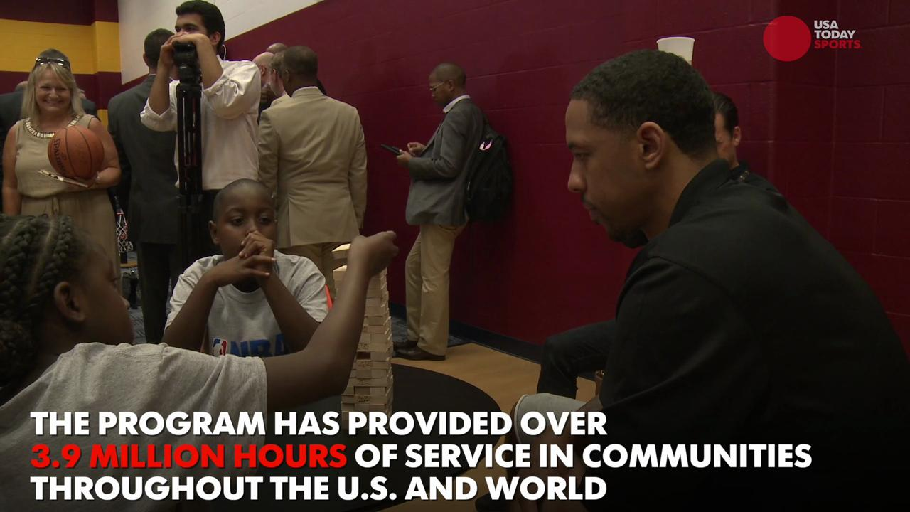 NBA Cares knows how to generate smiles