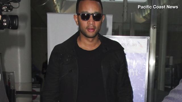 John Legend had a rough day at JFK airport Thursday. Veuer's Nick Cardona (@nickcardona93) tells us what happened.