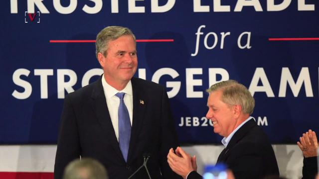 Jeb Bush has come around to actually like a lot of what President Trump is doing, that is except for his conspiracy theories on Twitter. Nathan Rousseau Smith (@fantasticmrnate) reports.