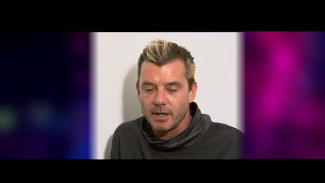 """Bush frontman Gavin Rossdale talks about landing a role as a judge on the U.K. version of TV talent show """"The Voice."""" (March 29)"""