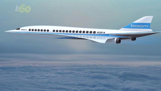 Jet startup Boom just raised enough money to build a demo version of its supersonic jet which can fly from New York to London in three hours. Sean Dowling (@seandowlingtv) has more.