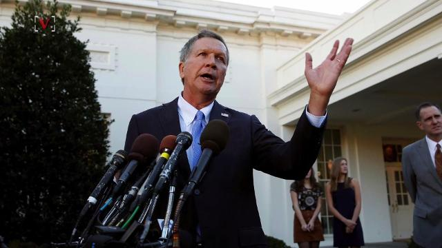 Ohio Gov. John Kasich confirmed that he won't challenge President Donald Trump in 2020. Veuer's Emily Drooby (@emilydrooby) has the story.