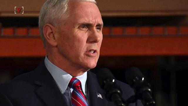 Vice President Mike Pence is speaking out about the failure of the administration's healthcare plan. Maria Mercedes Galuppo (@mariamgaluppo) has more.