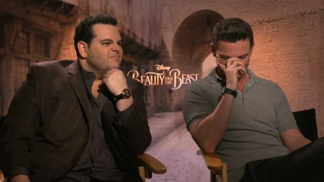 Josh Gad, who plays LeFou in Disney's live-action 'Beauty and the Beast,' thinks the movie's spell was totally unfair. If a spell was cast upon him, he'd take matters into his own hands, literally. (March 24)