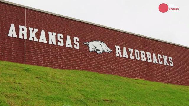 Razorback Stadium in Fayetteville, Ark.