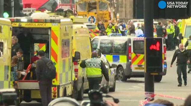 Witnesses to the attacks on Westminster Bridge and near the U.K. Parliament share graphic accounts of the 'horrendous' things they saw.