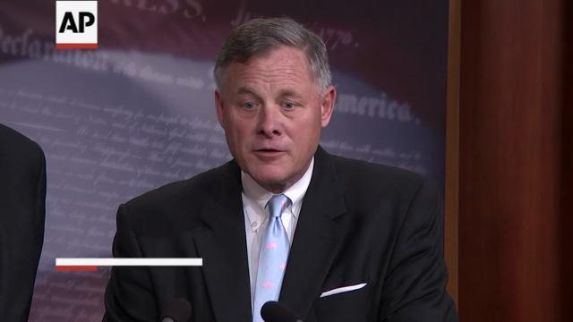 The Senate intelligence committee chairman says his panel's 'challenge' is to answer for Americans whether President Donald Trump was directly involved in Russia's meddling in the 2016 election. (March 29)