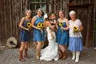 This bride asked her 92-year-old grandma to be a bridesmaid