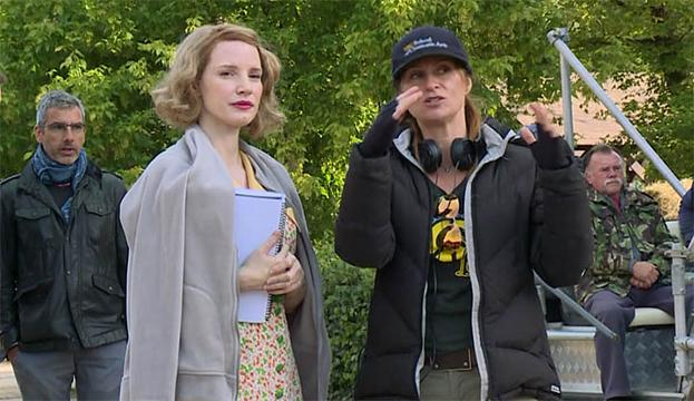 Actress Jessica Chastain and director Niki Caro tell USA TODAY's Andrea Mandell about the seven-year journey to get 'The Zookeeper's Wife' into production. The film is the true story of a woman's fight to save hundreds of Jews during World War II.