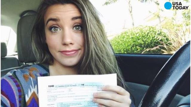 Arizona State University junior Belen Sisa posted an update about paying her taxes on Facebook that immediately went viral.