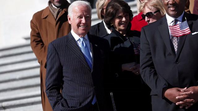 Former VP Joe Biden is going after President Trump