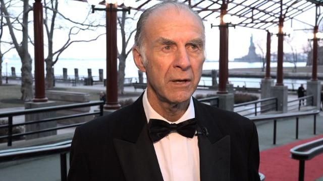 Top British explorer Ranulph Fiennes, Solar Impulse pilot Bertrand Piccard and actor Robert De Niro on Saturday criticized Donald Trump's climate policies at the storied Explorers Club dinner in New York. Video provided by AFP