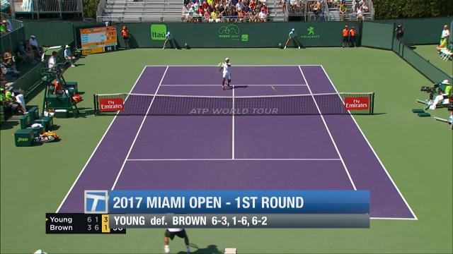 Recapping Wednesday's Day 2 of the Miami Open.