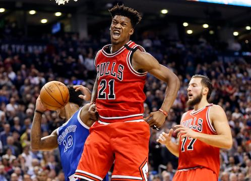 Butler is averaging over 23 points per game with the Bulls.