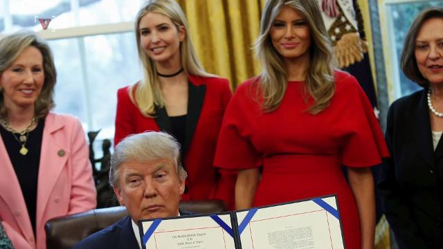 The growing role of the President's daughter is raising many questions and most people are looking into whether this move could be a potential violation of the nepotism law. Susana Victoria Perez (@susana_vp) has more
