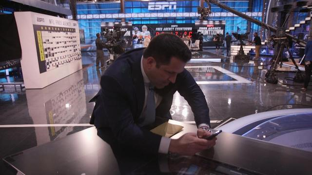 The MMQB begins a series of inside-inside football stories and video pieces for the 2017 season with a view into the life of ESPN NFL information czar Adam Schefter on his busiest day of the year: the kickoff day to NFL free-agency.