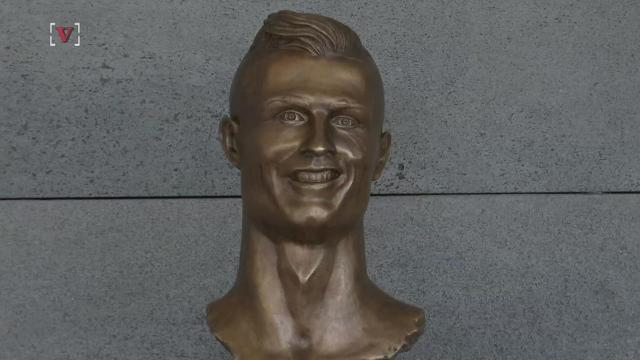 I think it's fair to say that no matter who you are, Cristiano Ronaldo is a handsome guy. But you wouldn't know it by looking at the latest statue of him. Josh King has the story (@abridgetoland).