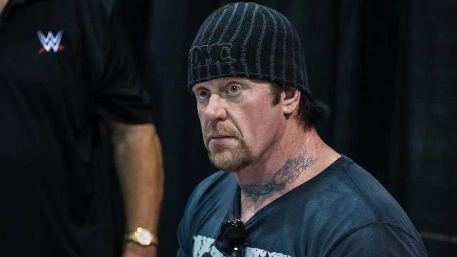 Tom Herman invited a special guest to come to practice and speak to his Longhorns, WWE superstar, The Undertaker.
