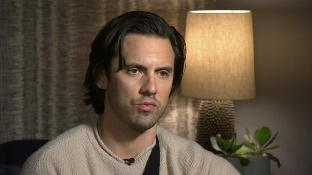 Actor Milo Ventimiglia recalls his father's experience in the Army and says he proudly supports U.S. military. (March 28)