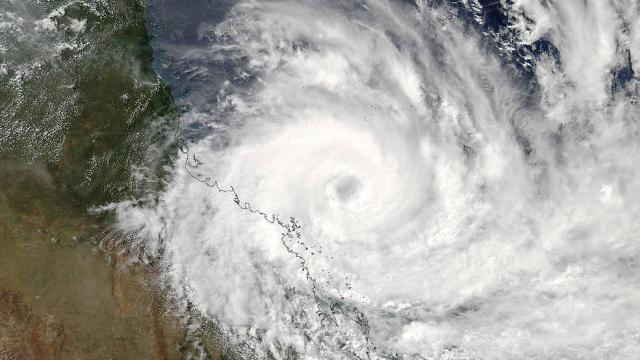Cyclone Debbie pummeled the northeastern coast of Australia on Tuesday, packing winds of more than 160 miles per hour.
