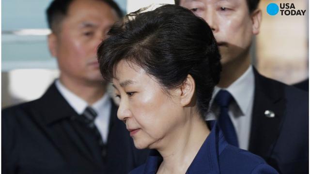 South Korean president Park Geun-hye has been arrested.