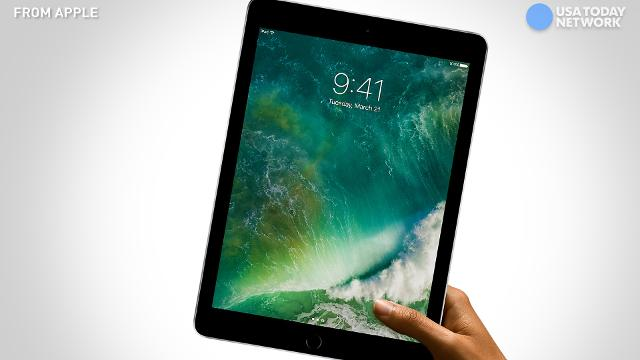 Apple's new iPad, which starts at $329.