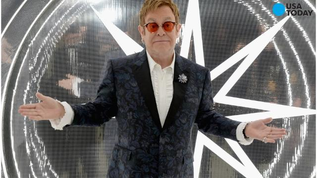Celebrity guests including Lady Gaga and Stevie Wonder honored the Grammy Award winning Elton John for his 70th birthday.