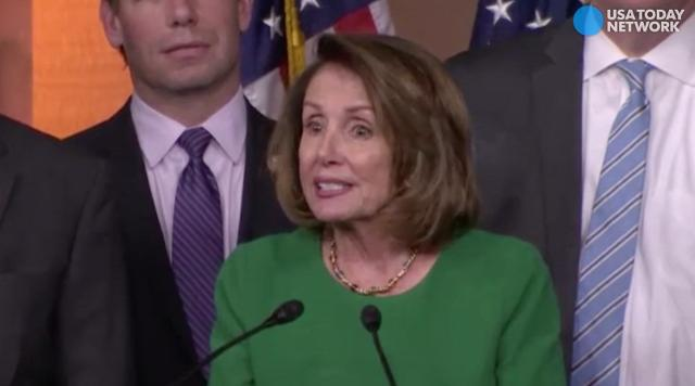House Minority Leader Nancy Pelosi praised the decision to cancel the vote on the GOP health care bill to replace Obamacare.
