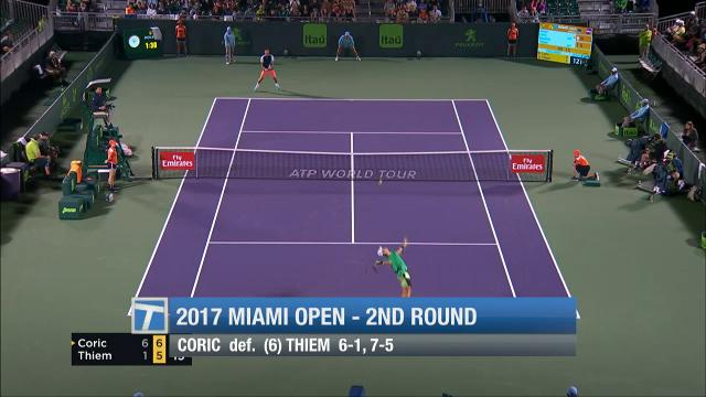 Recapping men's second round and women's third round action at the Miami Open.