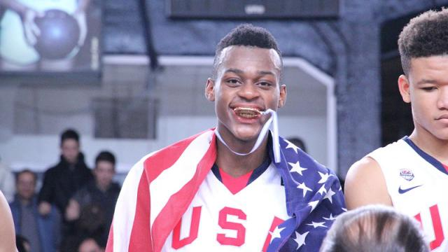 Jarred Vanderbilt has had a steady stream of recruitment letters, phone calls and visits from college coaches since he was 14.  Video provided by Newsy
