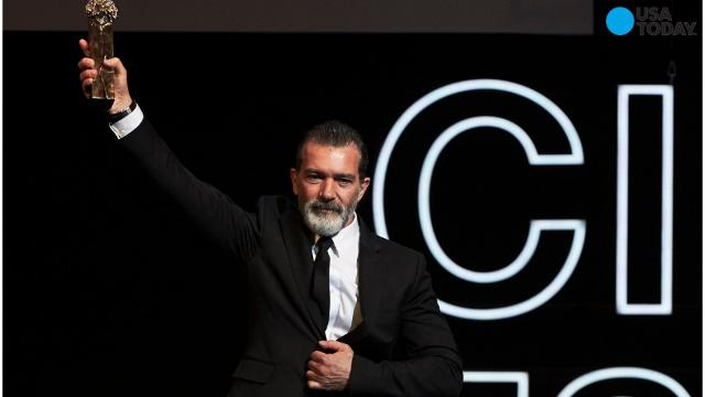 Spanish film star Antonio Banderas says he has recovered from a heart attack that he had in January.