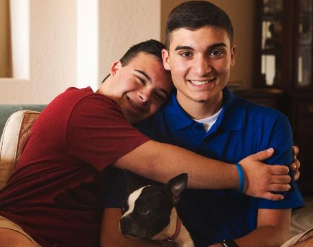 Teen creates apps to help people with special needs