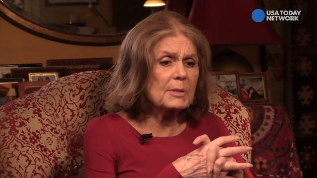 Feminist Gloria Steinem says confronting unconscious sexism is key to eradicating a sexist society.