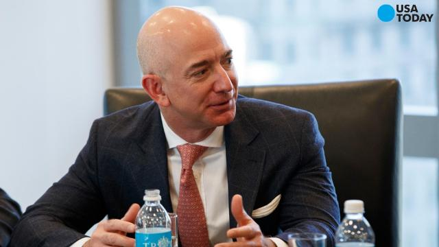 Amazon founder and CEO Jeff Bezos is now the second-richest person on the planet. See who he beat and who is still richest of all.