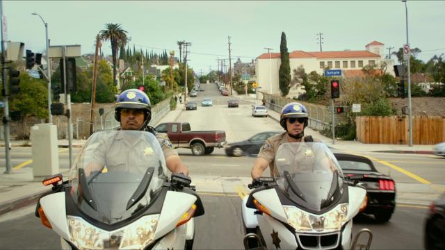 The misadventures of two California Highway Patrol motorcycle officers as they work together to bring down crooked cops.