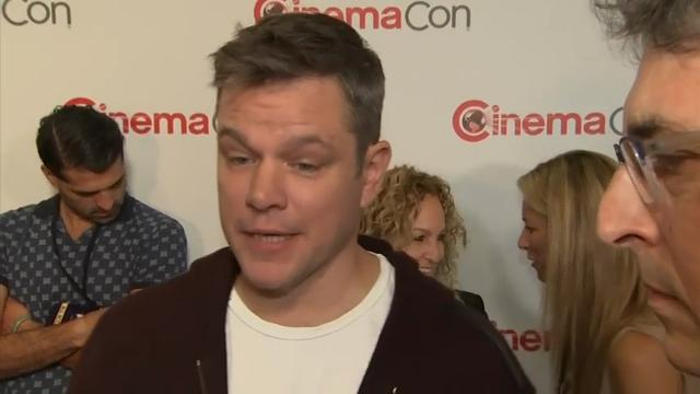 "At the CinemaCon presentation of dramedy ""Downsizing,"" Matt Damon and director Alexander Payne explain what the movie is about and what makes it funny. (March 30)"