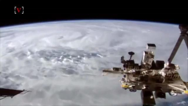 The International Space Station confirms it -- Cyclone Debbie is a monster of a storm. Josh King has the story (@abridgetoland).
