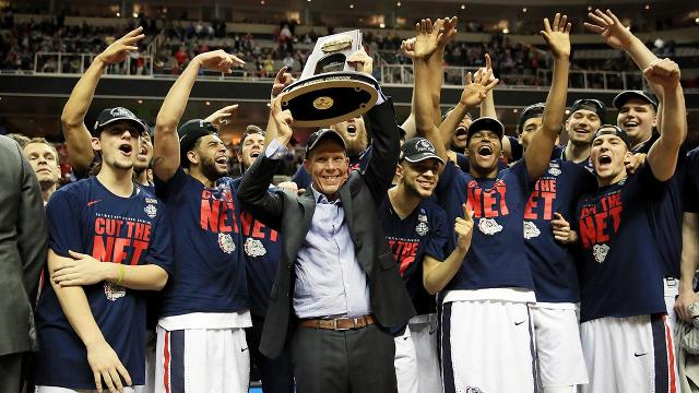 The Gonzaga Bulldogs have reached their first Final Four in program history after defeating Xavier 83-59 in the Elite Eight.