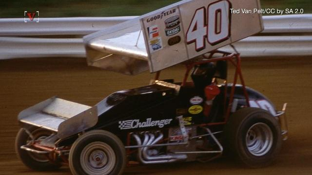 Race car driver Dave Steele was killed in a sprint car race at Florida's Desoto Speedway. Matt Hoffman reports.