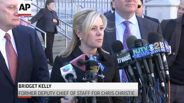 Two former aides to Gov. Chris Christie were sentenced to prison Wednesday for their role in a political revenge plot involving traffic jams at the country's busiest bridge, a scandal that continues to hang over his final year in office. (March 29)