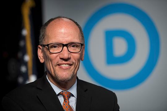 Democratic chair Tom Perez skeptical of cutting deals with Trump