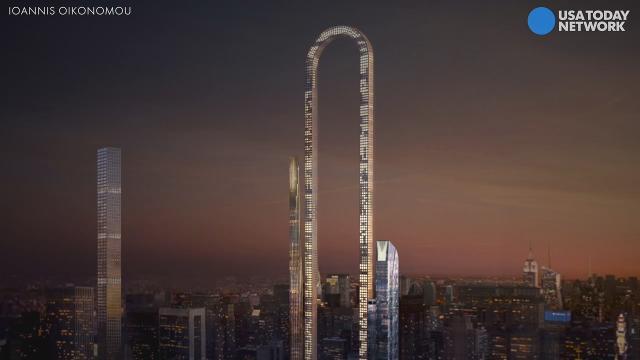 u shaped skyscraper will blow your mind