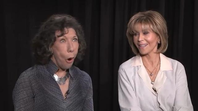 "Jane Fonda and Lily Tomlin savor senioritis as ""Grace and Frankie"" unveils its third season on Netflix. (March 29)"