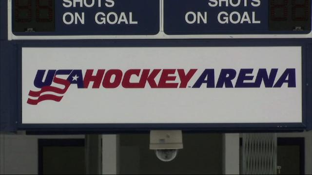 Members of the U.S. women's hockey team say they're ecstatic to have a contentious wage dispute behind them. They're now ready to focus on defending their world championship(March 30)