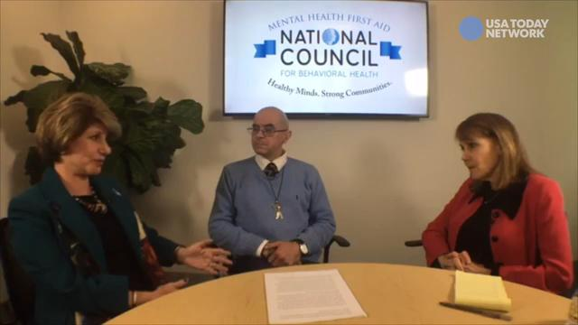 USA TODAY's Jayne O'Donnell talks mental health and addiction treatment under GOP healthcare plan with experts Linda Rosenberg and Samuel Hedgepeth.