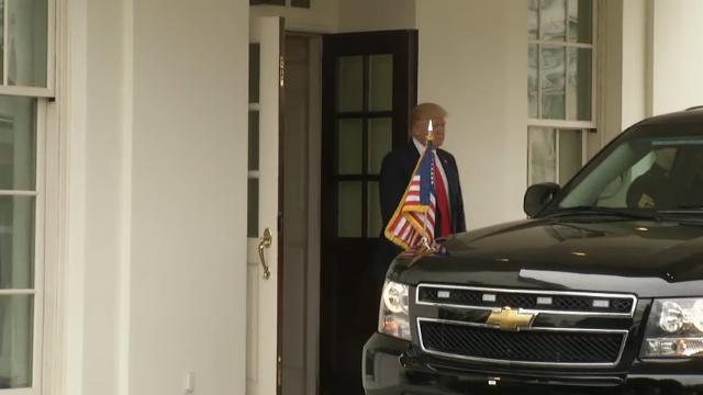 Trump welcomes danish pm to white house